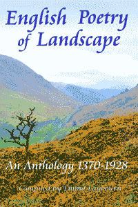 Cover of English Poetry of Landscape, a free ebook anthology