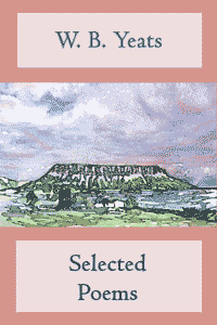 free ebook of Yeats Selected Poems; cover picture of Ben Bulben